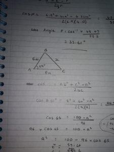 Image of algebraic calculations
